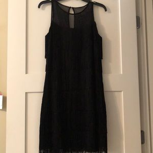 White House black market flapper dress size small